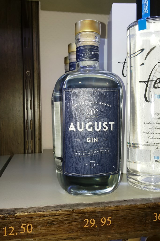 Ich fass' es nicht, jetzt gibt es auch noch einen Augsburger Gin. Das Thema ist ja so was von durch.