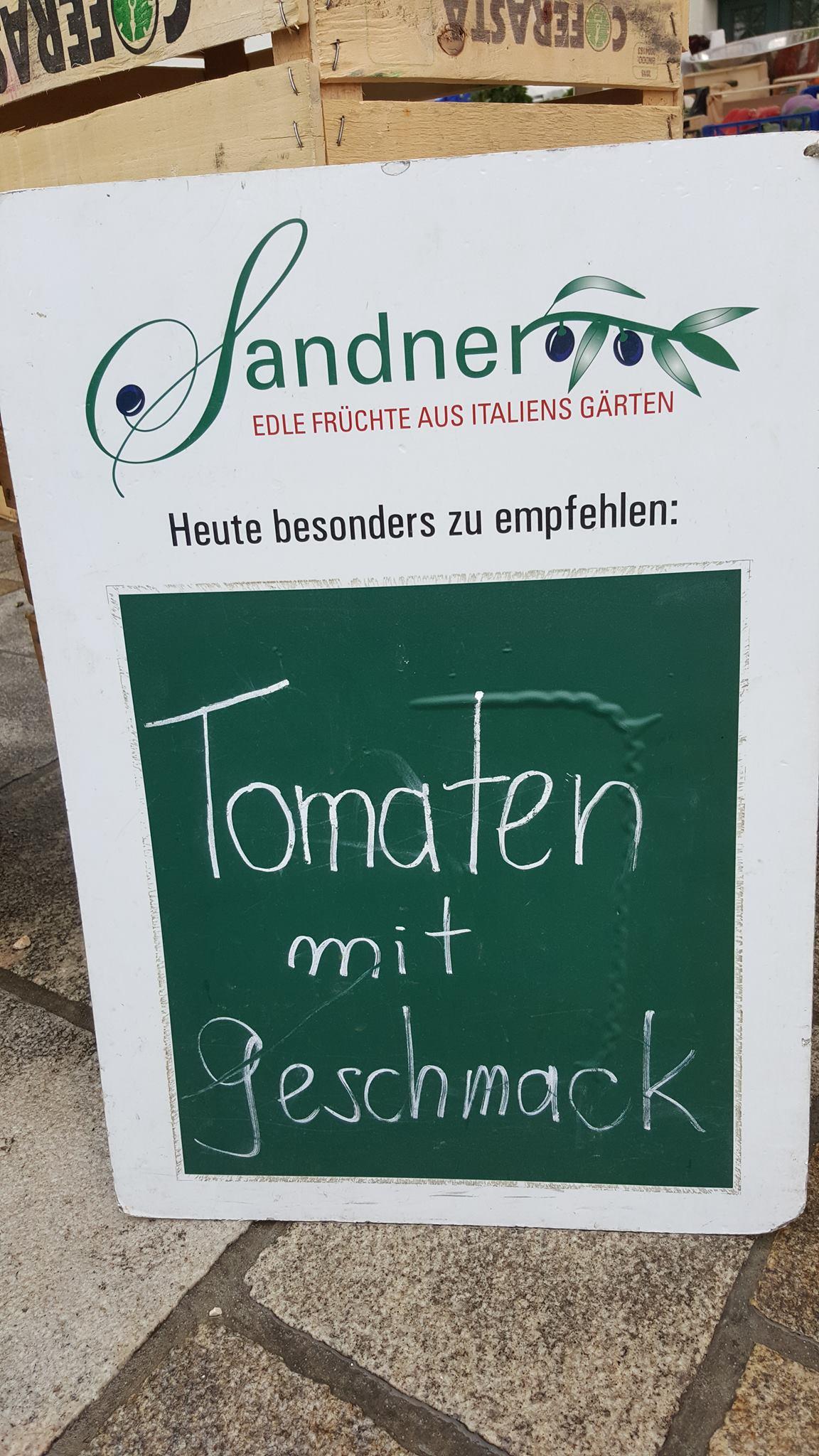 Stadtmarkt Kempten: Backwaren ohne Backmischung und Tomaten mit Geschmack – ist es nicht traurig, dass das heutzutage USP's sind statt selbstverständlich?