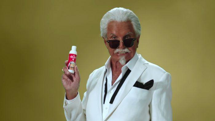 Immer wenn man denkt, es geht nicht mehr schlimmer, wird noch eins draufgesetzt: KFC hat Sonnenmilch mit Brathähnchengeruch auf den Markt gebracht … und hat Erfolg damit.