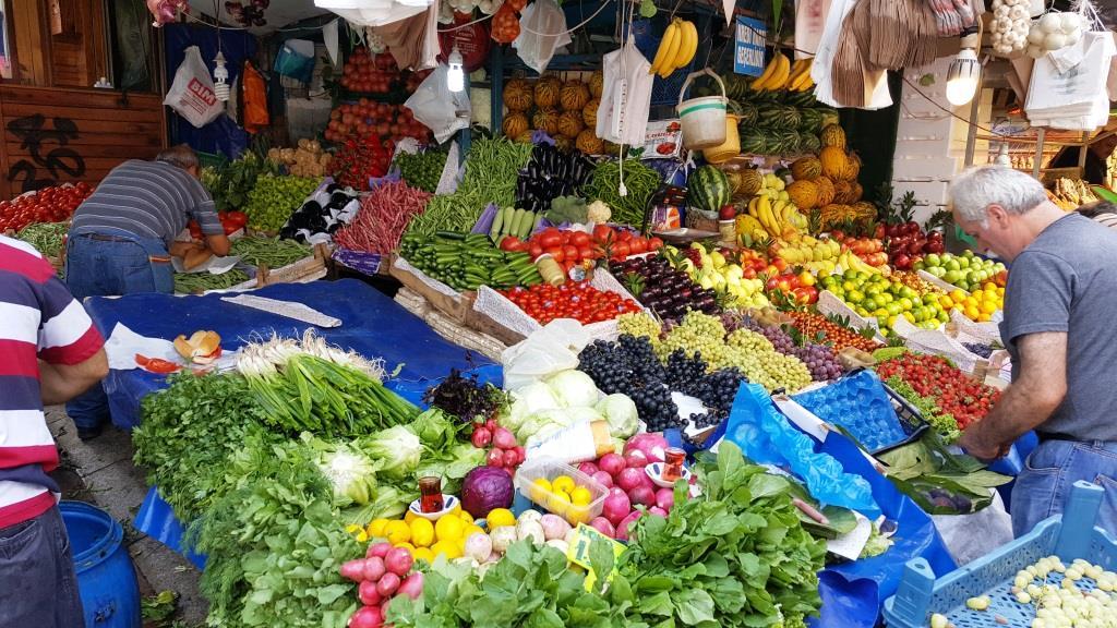 Heute auf dem Markt in Üsküdar, Asien