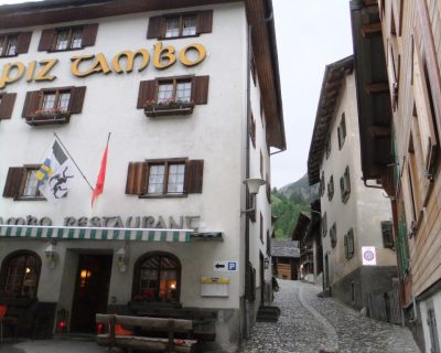 Hotel Piz Tambo in Splügen