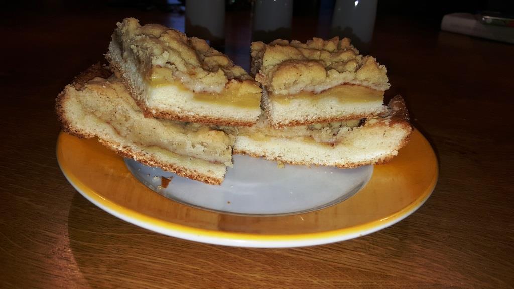 Apfel-Streusel-Hefekuchen vom Blech