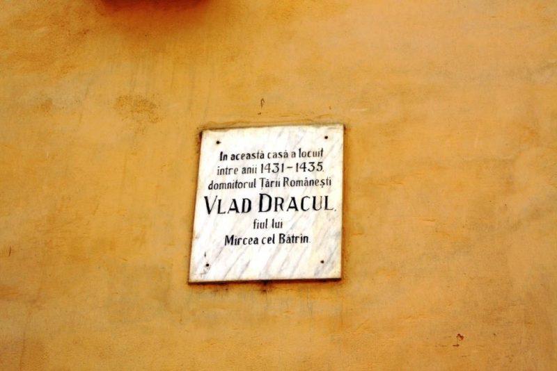 Angeblich das Geburtshaus von Fürst Vlad III, alias Dracula