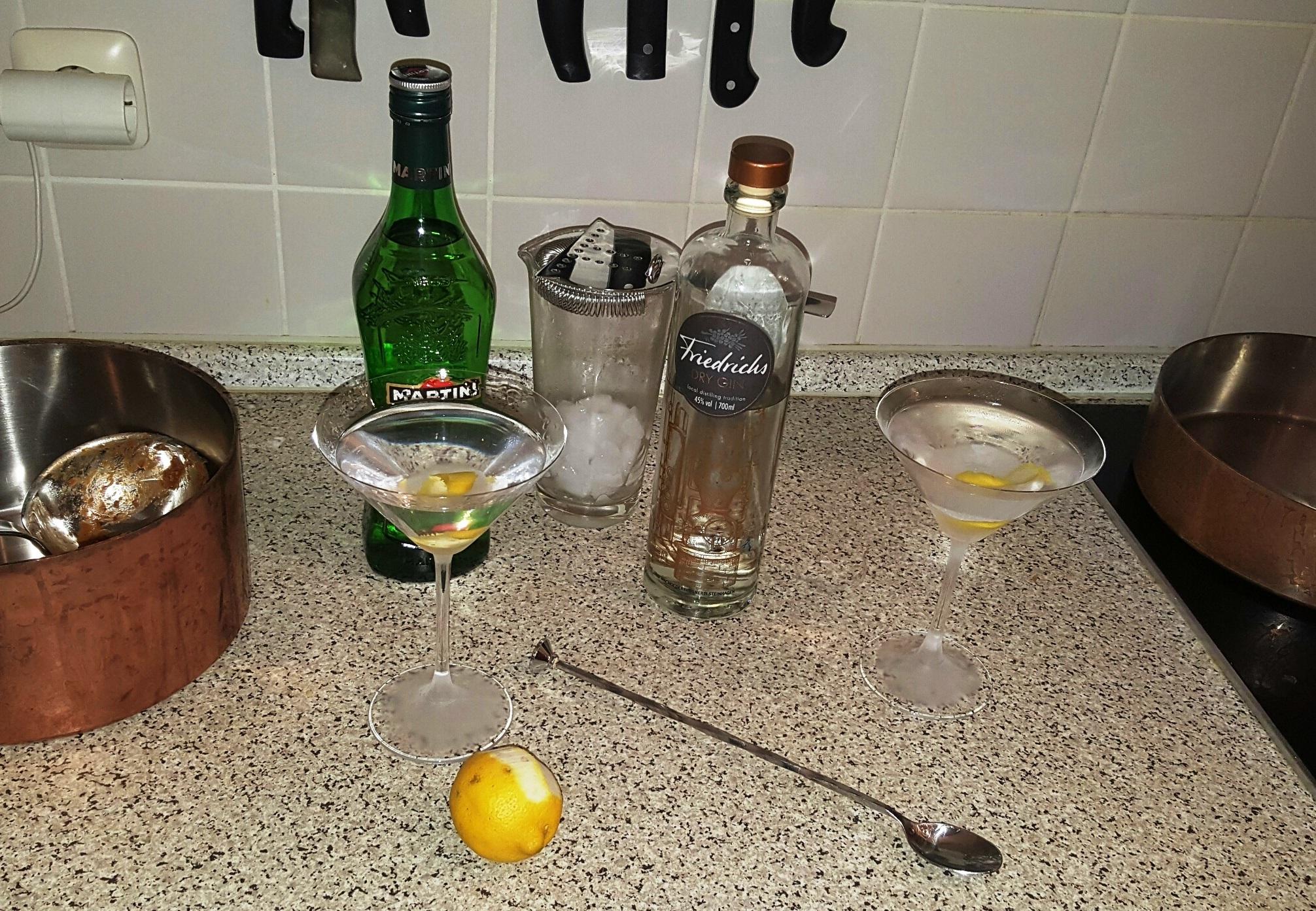 Friedrichs Gin  (endlich mal ohne falschen Apostroph!)