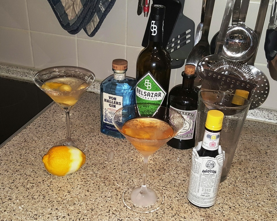 Von Hallers Gin … lecker!