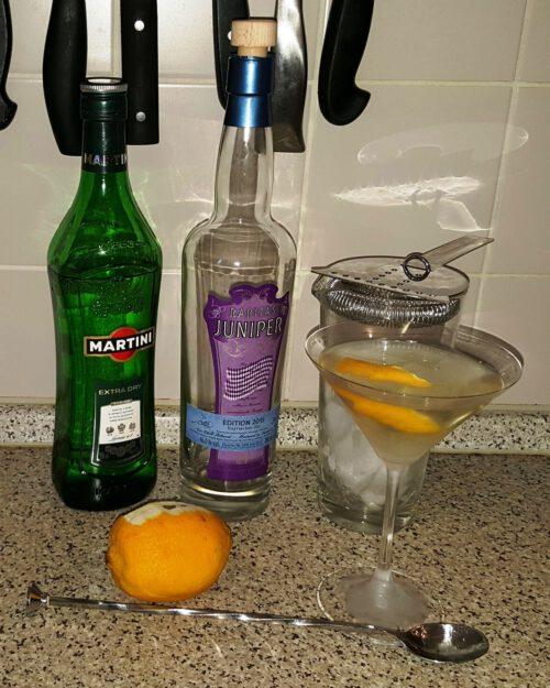Juniper … mal wieder ein Bayrischer Gin, diesmal sogar blended