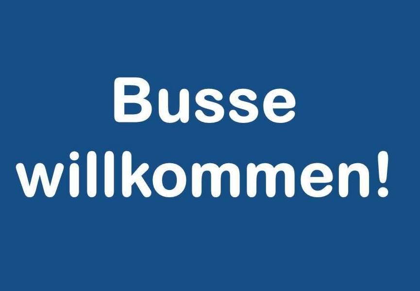 Busse willkommen