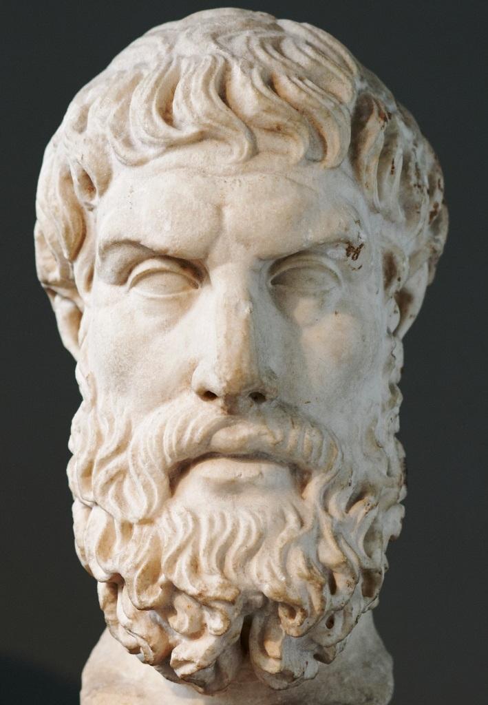 """""""Der Weise aber entscheidet sich bei der Wahl der Speisen nicht für die größere Masse, sondern für den Wohlgeschmack.""""  (Epikur von Samos, um 300 v.Chr.)"""
