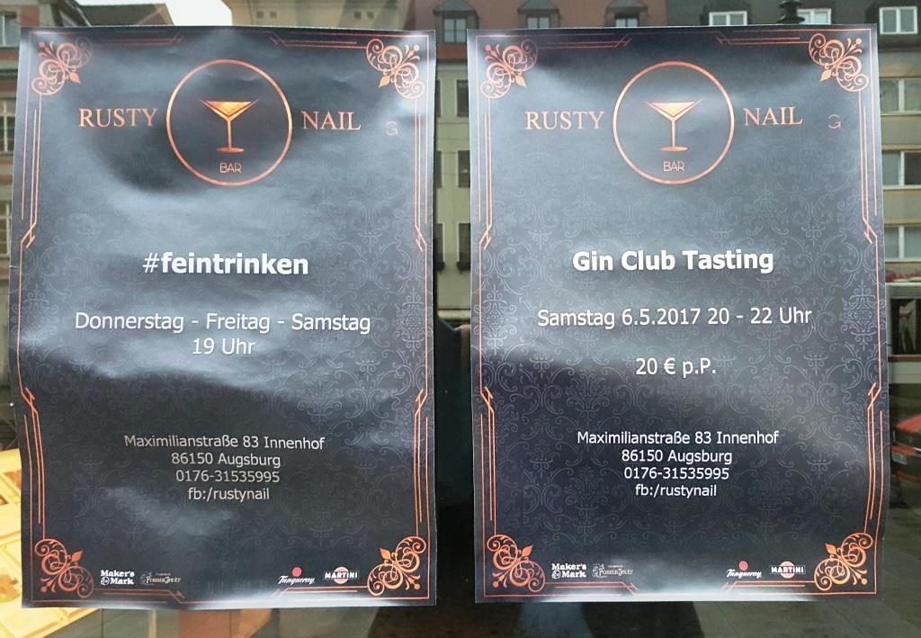 Unglaublich – Gin Tasting in Augschburg: wer kommt mit?