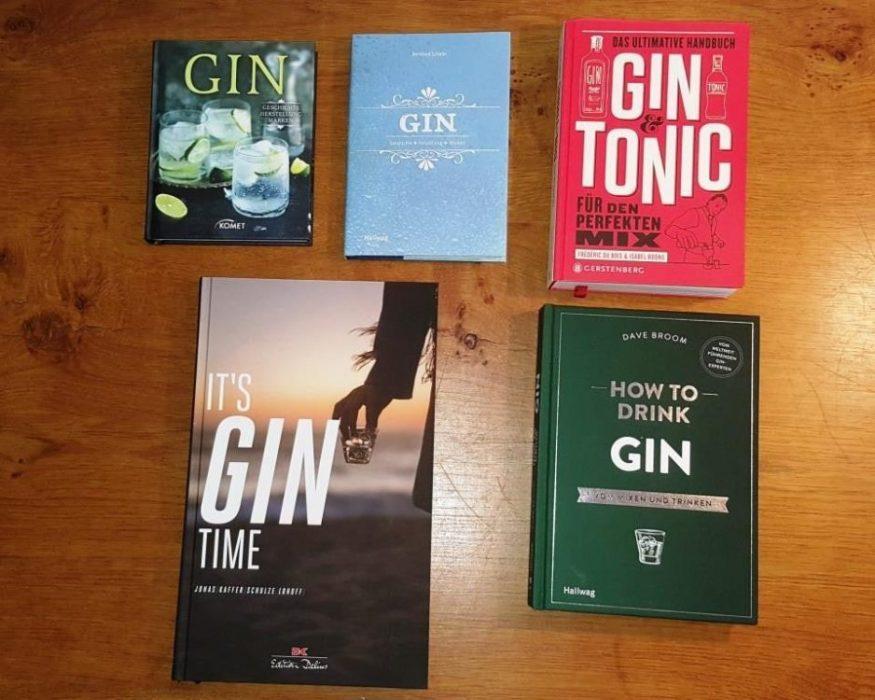 """Fünf Bücher zum Thema """"Gin"""""""