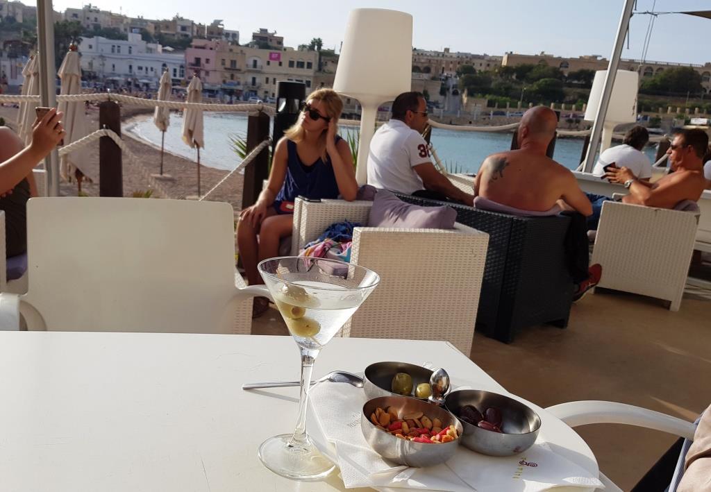 Ausnahmsweise auch am Mittwoch und ausnahmsweise mit Olive – aber dafür mit Strand und Meer