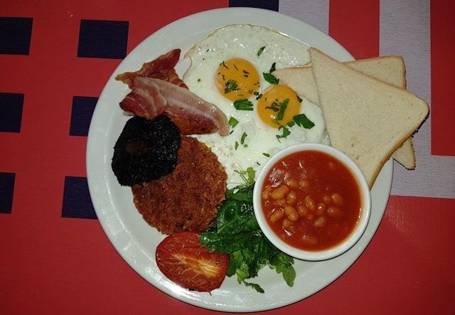 Full English Breakfast …