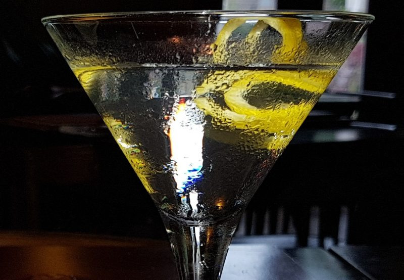 Der Martini Cocktail in Randolph's Bar & Lounge