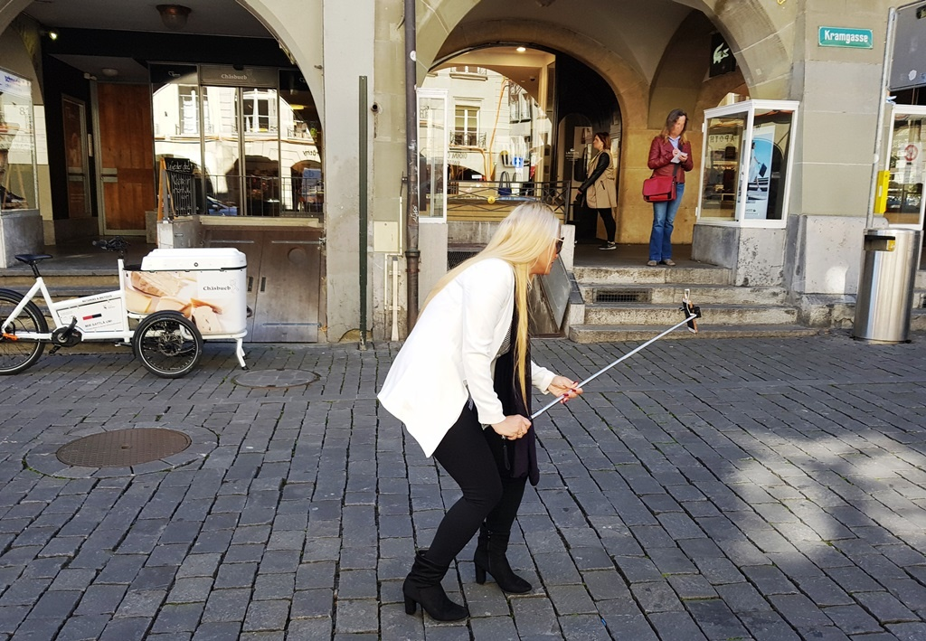 Manche Leute sind einfach sowas von blond …