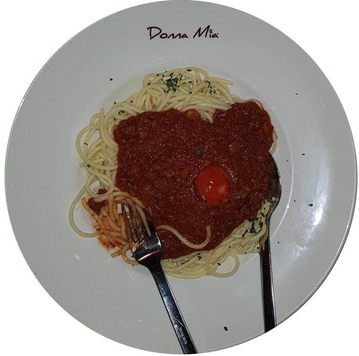 Donna Mia Trier, Spaghetti Bolognese