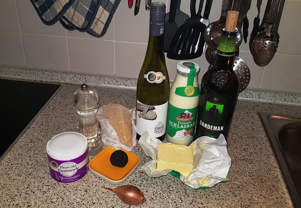 Trüffel, Péringord, Parmesan, Trüffelnudeln