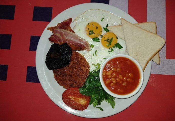 Exhibitionist, London, English Breakfast
