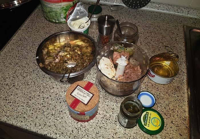 Thunfisch, Aufstrich, Vorspeise