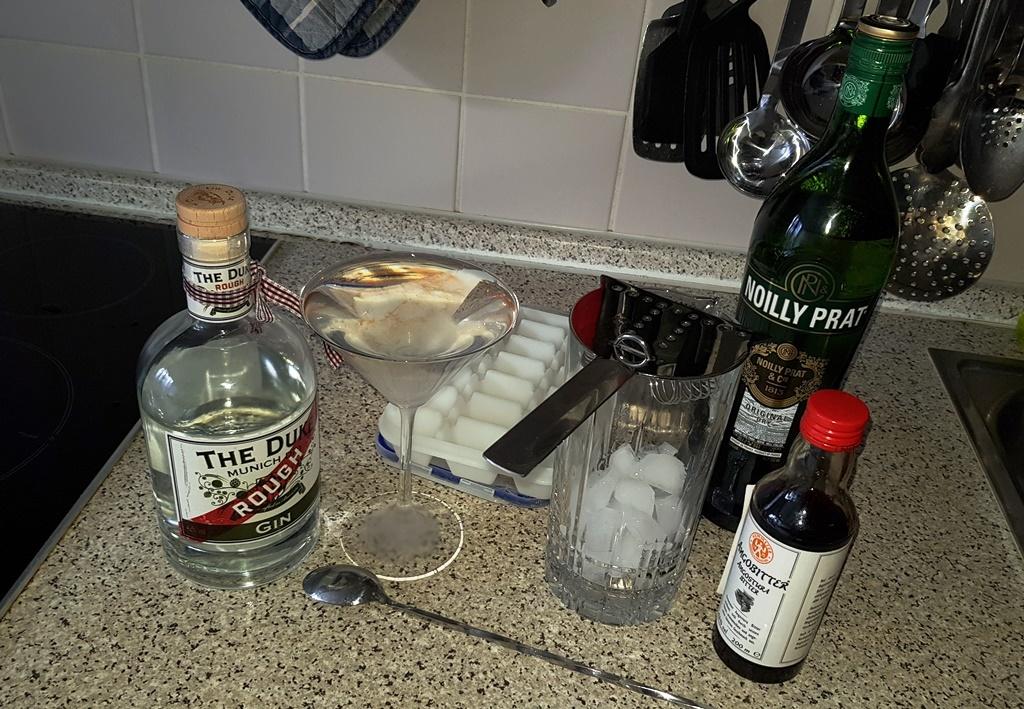 The Duke Rough Gin …