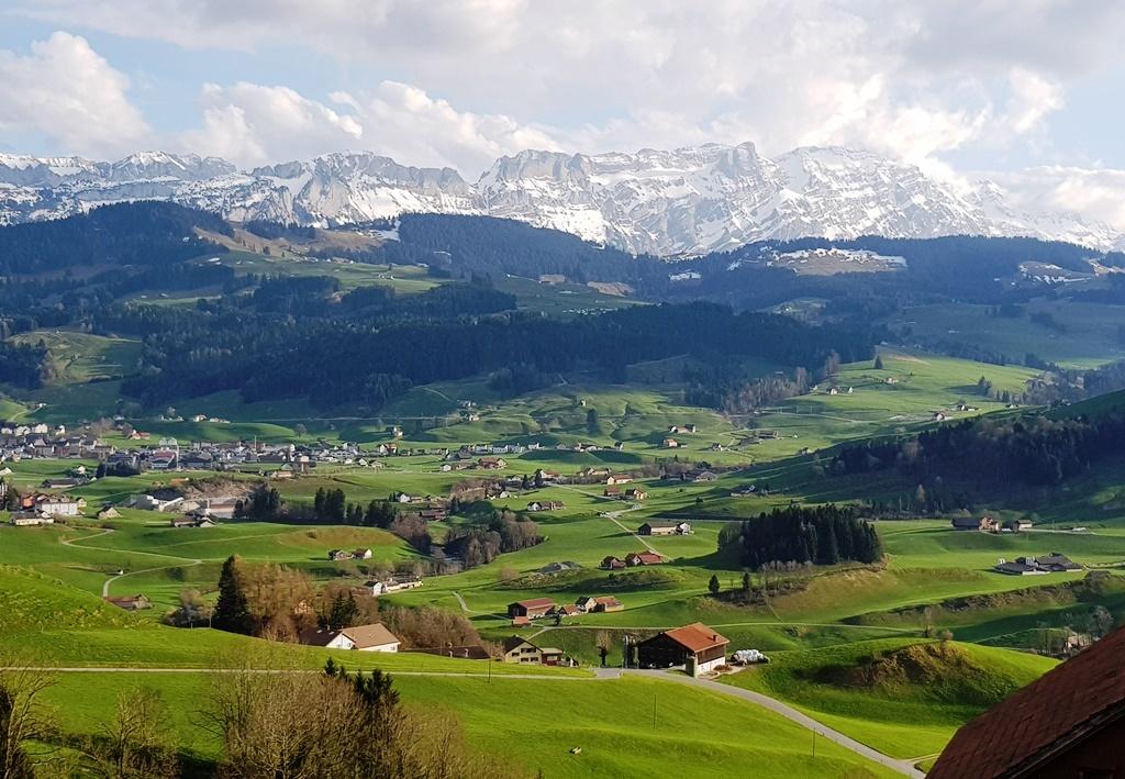 Bären in Schlatt: einfacher, angenehmer, liebeswerter, ruhiger Alpen-Gasthof