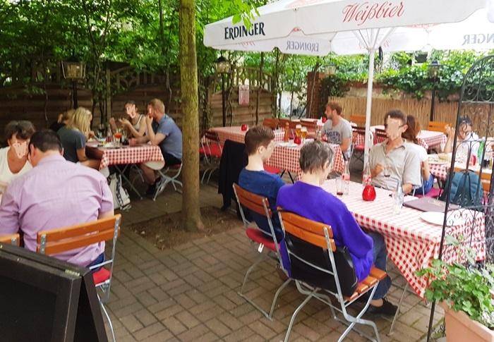 La Casina Rosa, Dresden, Sachen, Italiener, Italienisches Restaurant