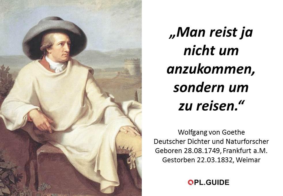 Ben ist da zwar anderer Meinung, aber ich gebe Goethe recht.