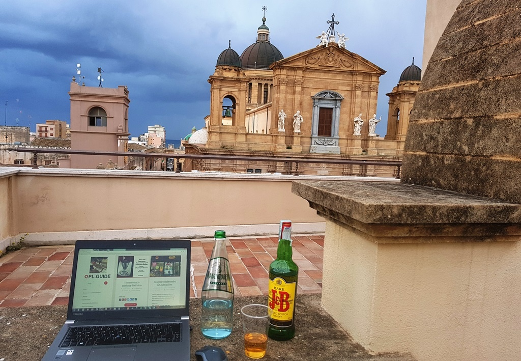 """Stadthotels auf Sizilien oder """"Aber wenn's schön wär, wären auch die Touristen hier, und dann wär's nicht mehr schön, das ist ja das Paradoxon."""" Teil 2: Marsala"""