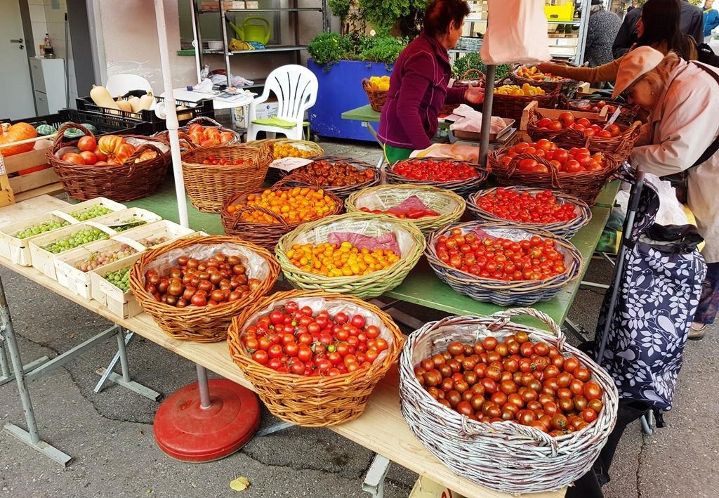 Heimische Tomaten …