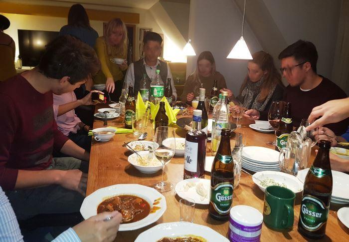 Geburtstag, Fete, Party, Fier, Österreichisches Buffet