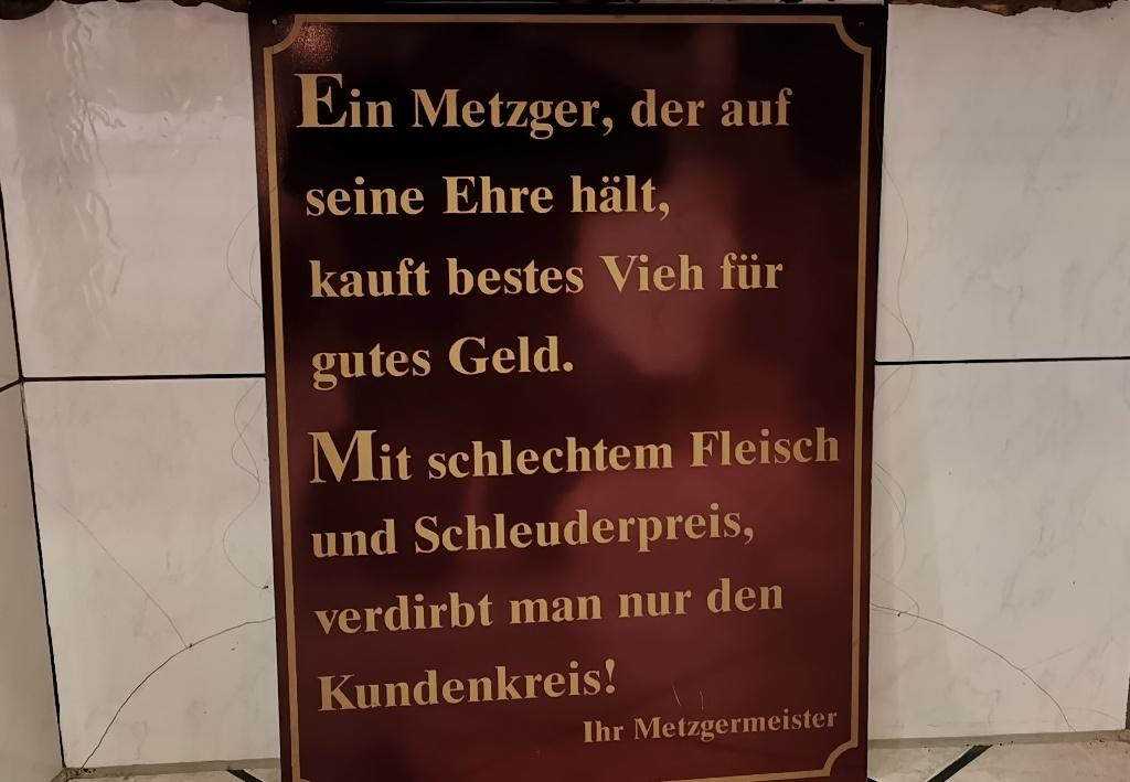 Neulich, in Nordhessen …