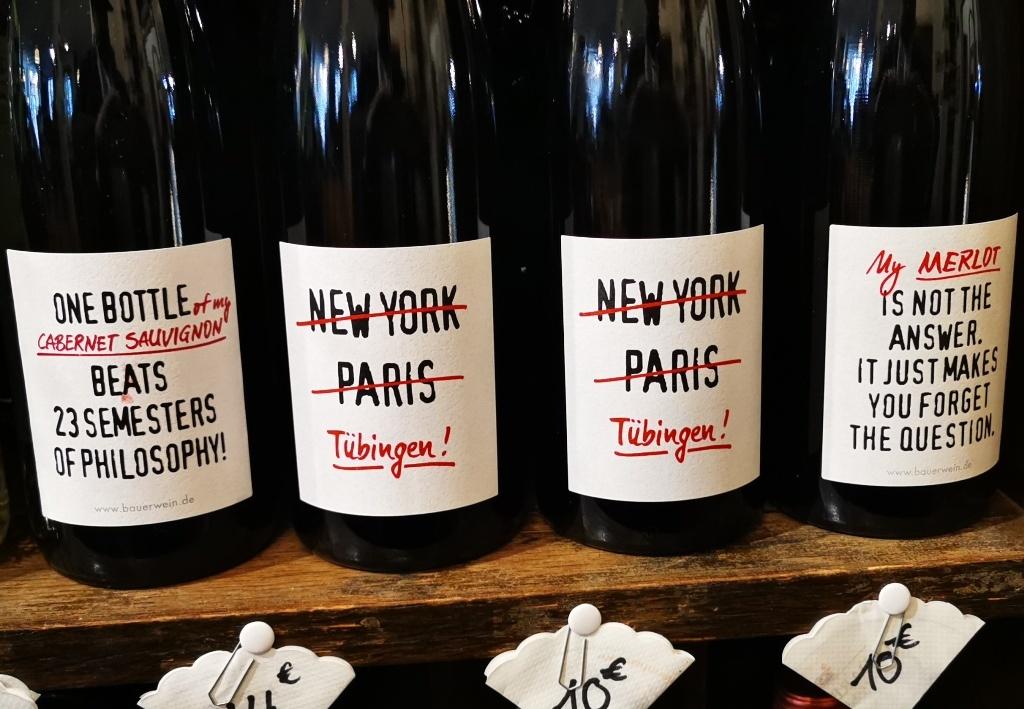 Ganz schön frech, diese Tübinger Weinhändler …