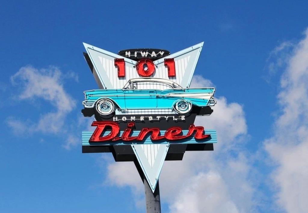 Hi-Way 101 Diner in Sequim: Eine Nation, die in großem Stile so etwas isst, kann keine gute Nation sein
