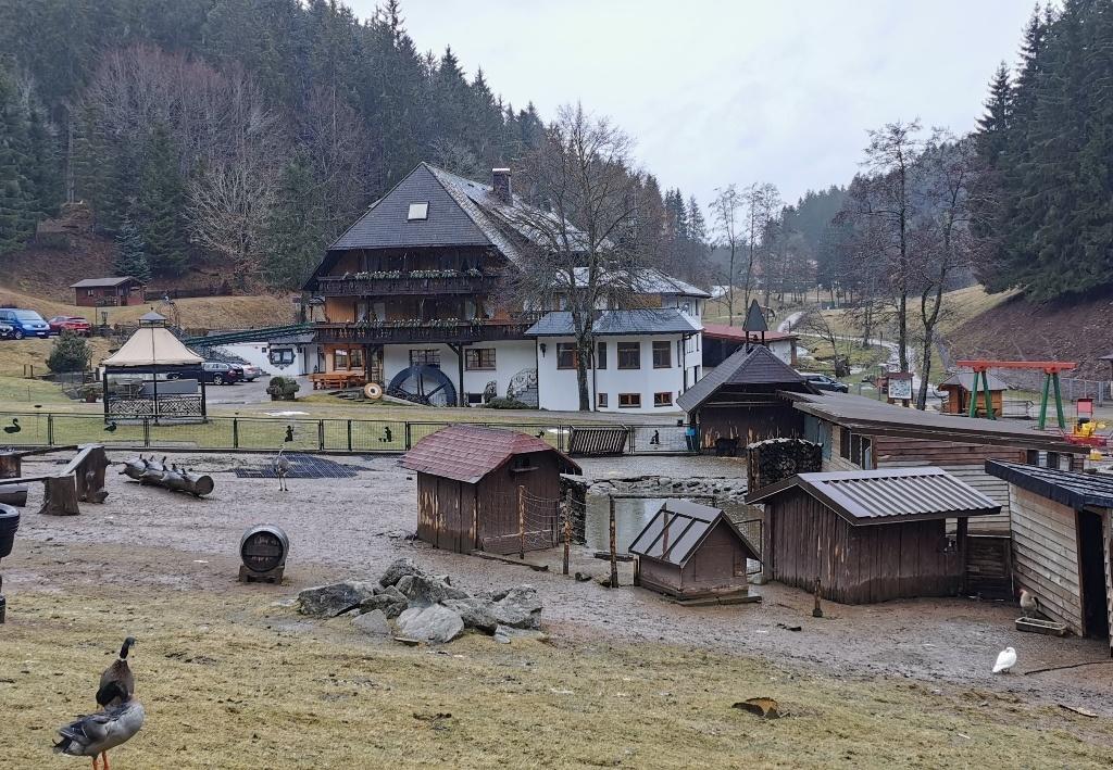 Tannenmühle: Massentourismusabfertigungsanlage in idyllischer Umgebung