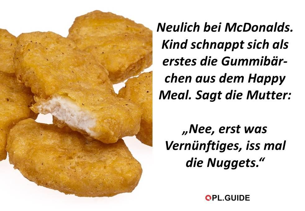Neulich bei McDonalds …