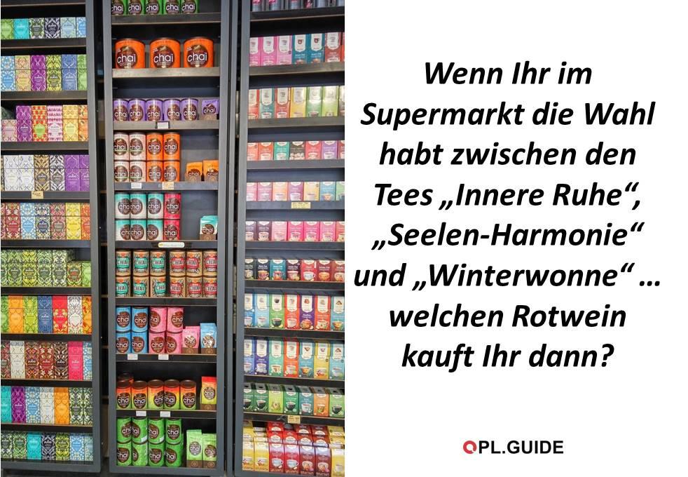 Neulich im Supermarkt …