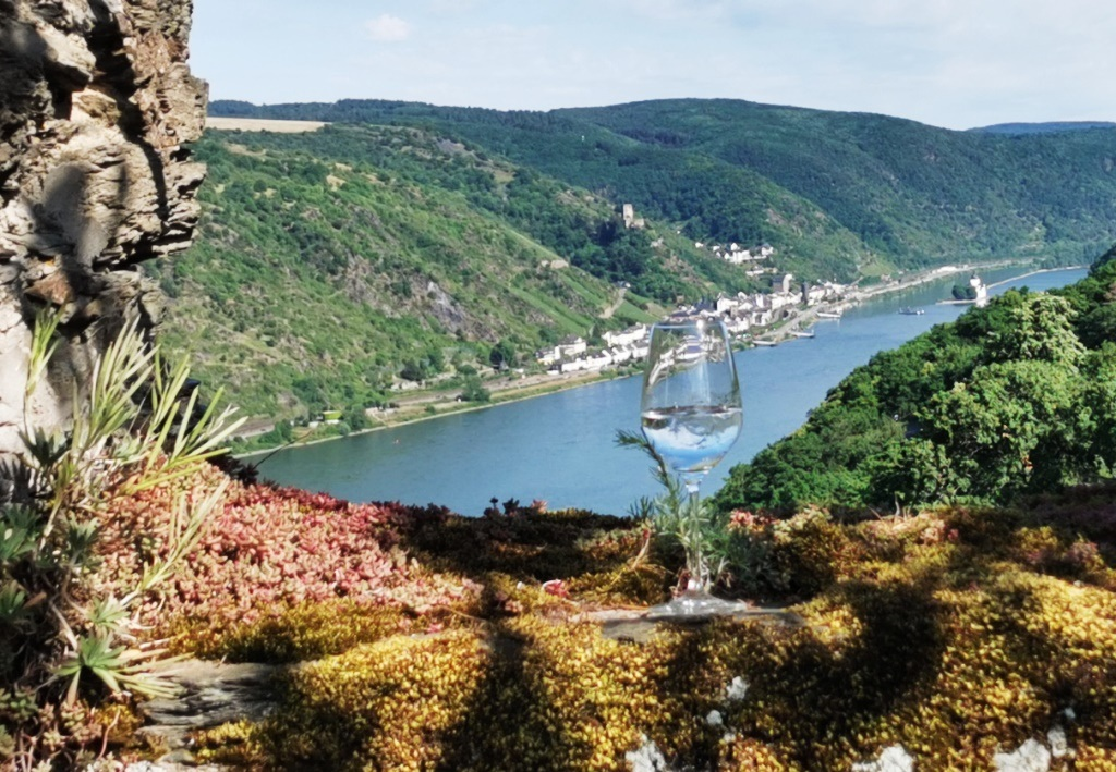 Cheers aus dem Rheingau …