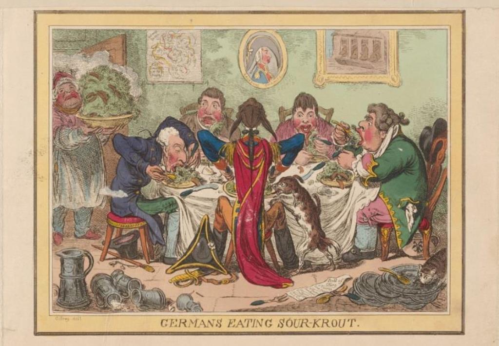 Auf der Suche nach der  Deutschen Gastronomie: I. Vorrede