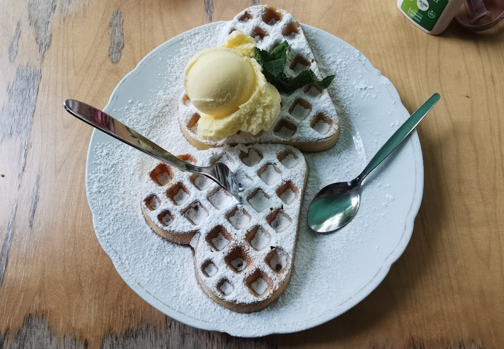 Auf der Suche nach der Deutschen Gastronomie: X. Gretchens Villa in Hamburg