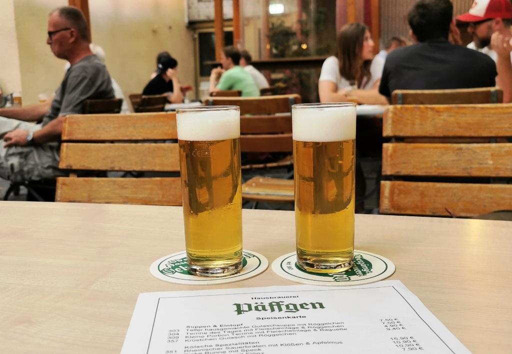 Auf der Suche nach der Deutschen Gastronomie: XIX. Päffgen in Köln