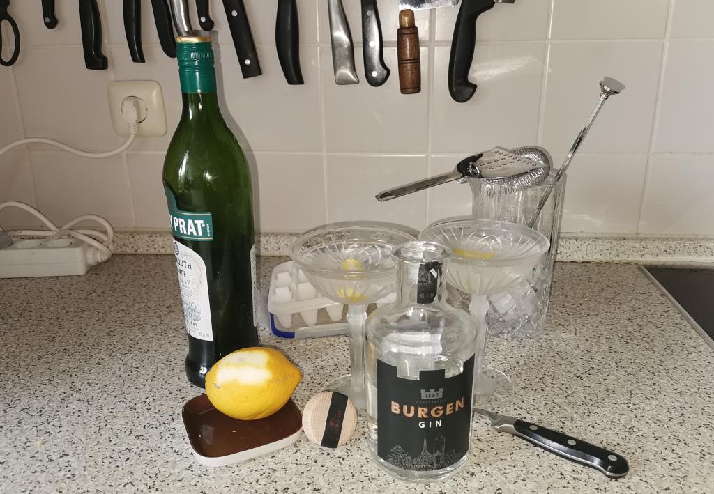 Burgen Gin: Schuster bleib bei Deinem Leisten