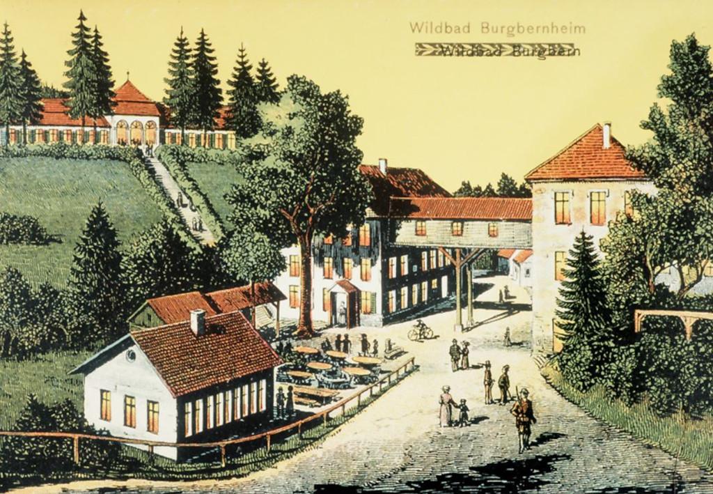 Wildbad Burgbernheim: vergessenes, idyllisches, rustikales Hide-Out in Franken
