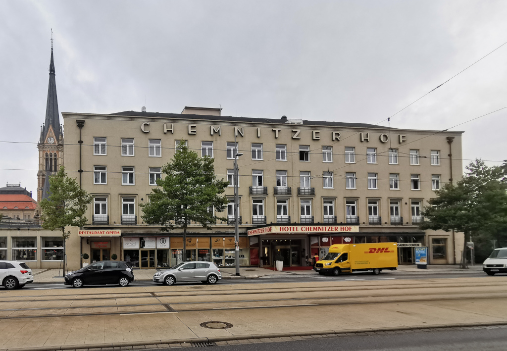 Hotel Chemnitzer Hof: Uncharmant
